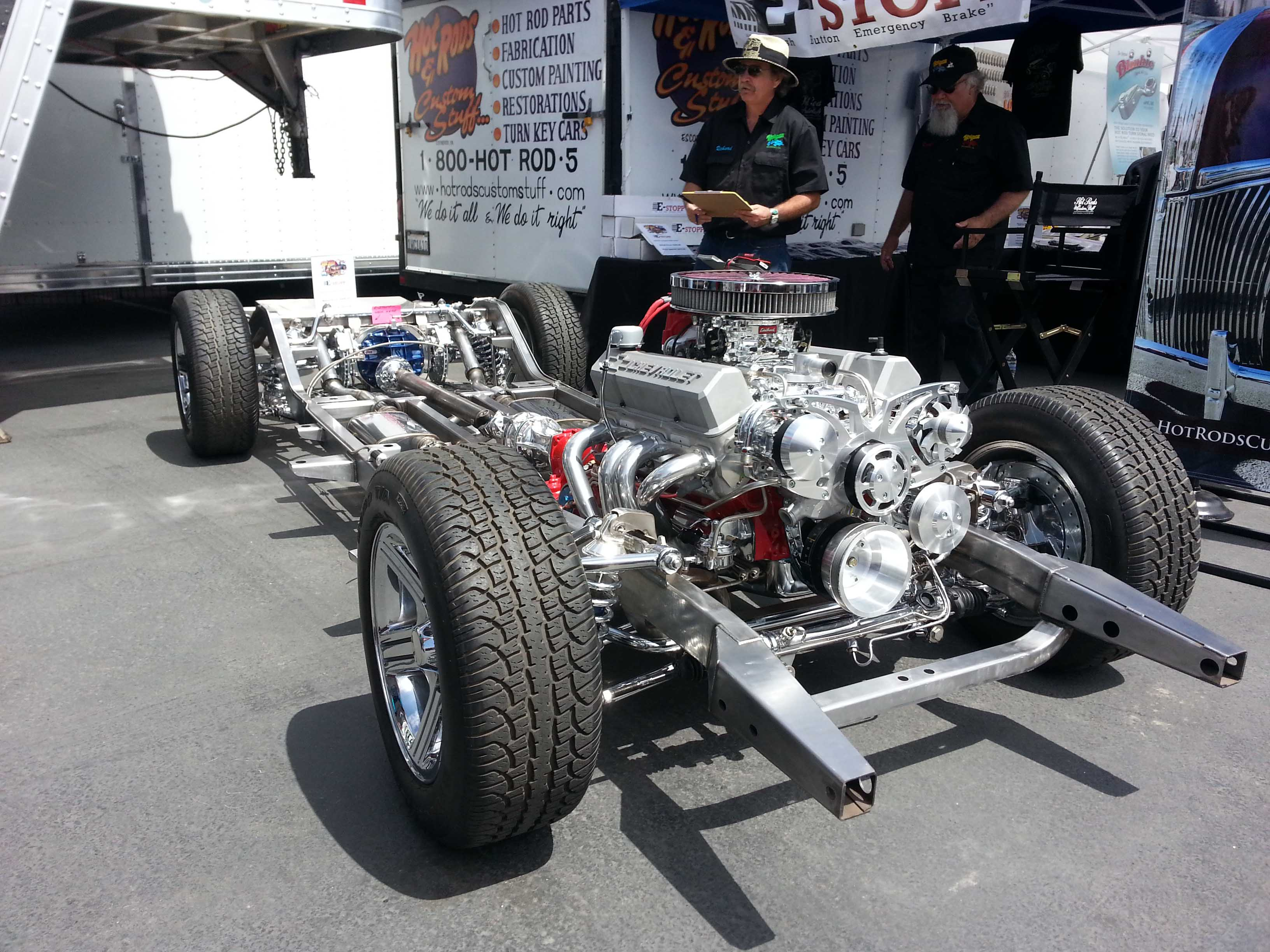 Small Block Chevy Style Track Serpentine Kit