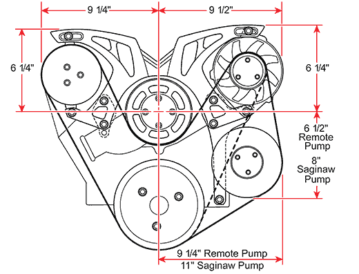 Chevy Small Block Revolver Diagram