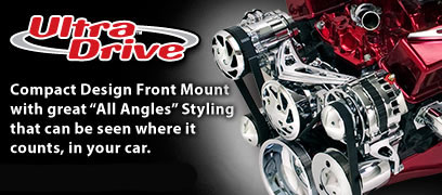 Ultra Drive - Front Mount for Chevy Small and Big Block