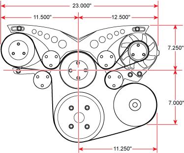 Chrysler Big Block Sport Track Diagram