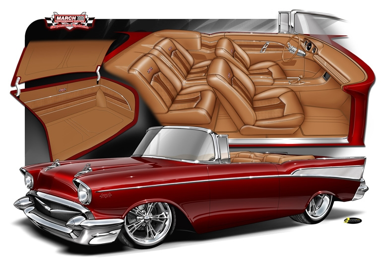 March Madness 57 Chevy